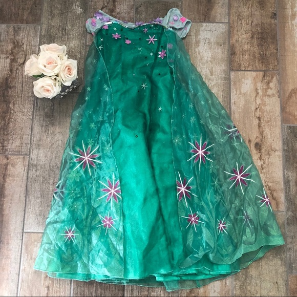 Disney Princess Dress costume girls size 9-10